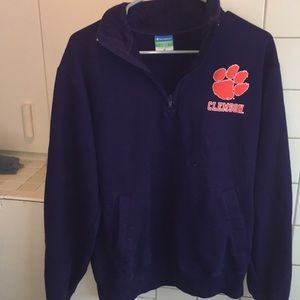 Clemson Purple Champion Eco Friendly Fleece